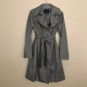 Mossimo Gray trench coat NWOT